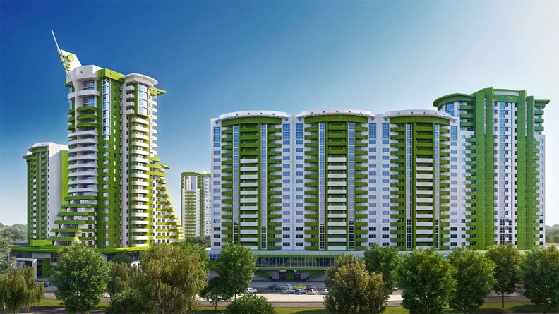 Жилые комплексы - будущее строительство