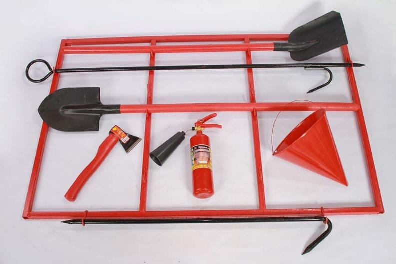 Пожарный щит – вас надежно защитит