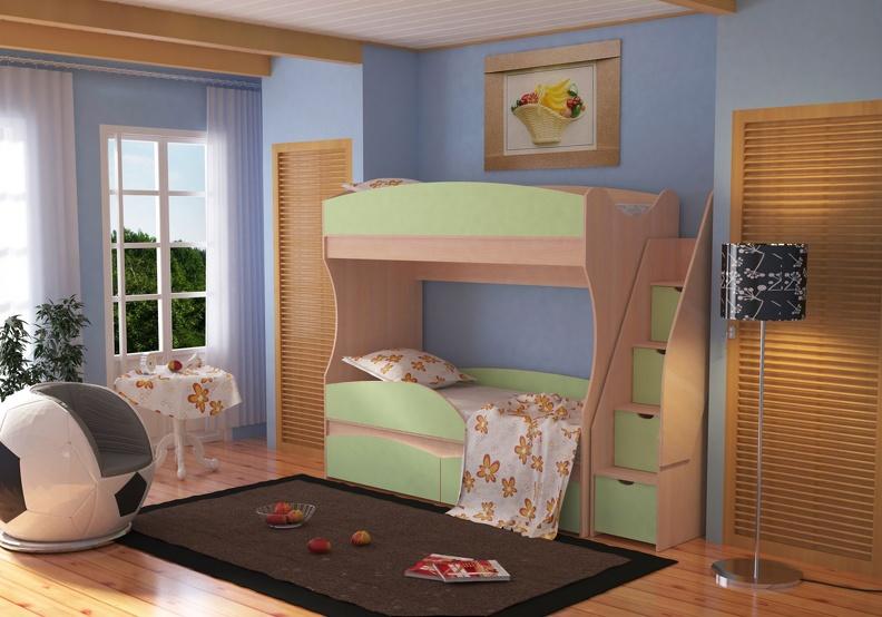 Детская комната, которая приносит радость.