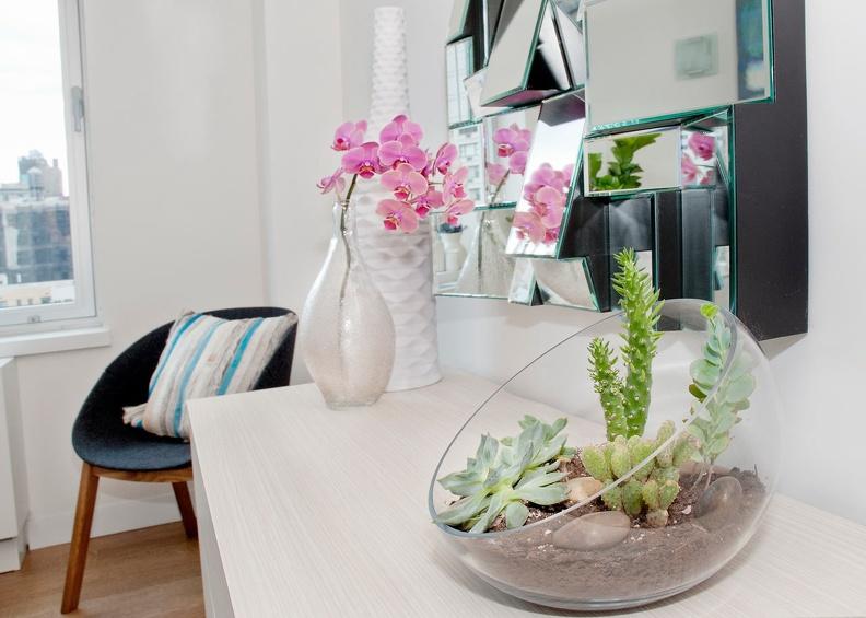 Живые цветы — лучшее украшение интерьера