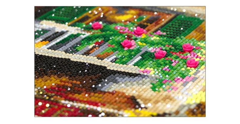 Преимущества алмазной вышивки