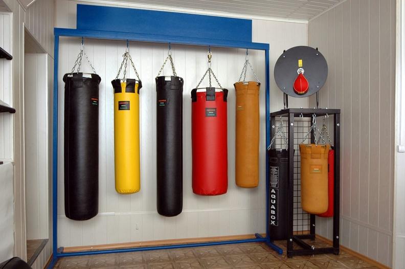Выбор боксерского мешка для дома