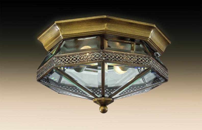 Потолочные светильники, сочетающие в себе изящество и безопасность.