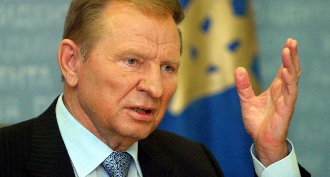 Кучма назвал условие снятия торговой блокады на Донбассе
