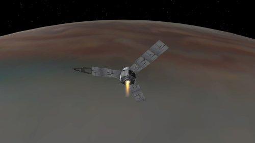 Jupiter spacecraft