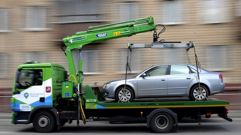 Как происходит эвакуация автомобиля