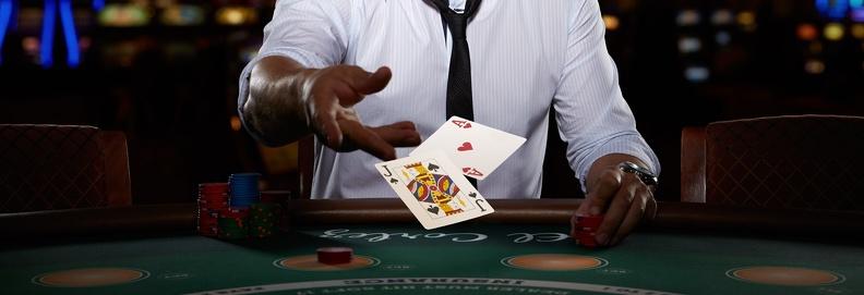 Крупье в виртуальном казино