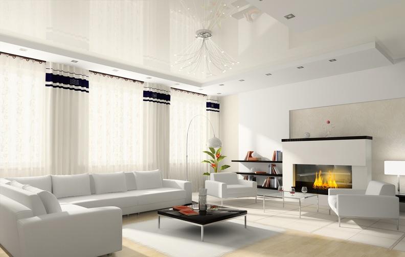 Как выбрать качественный и красивый натяжной потолок