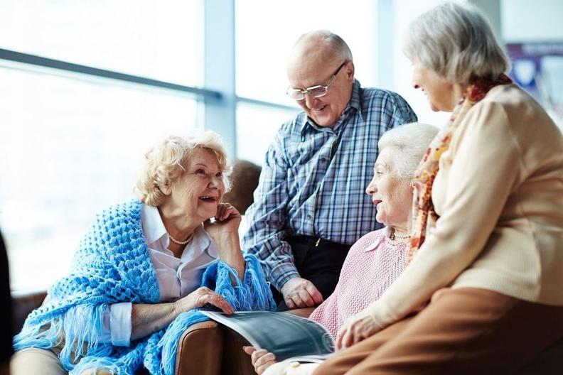 Дом для престарелых людей