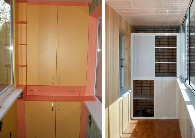 Какой шкаф выбрать на балкон