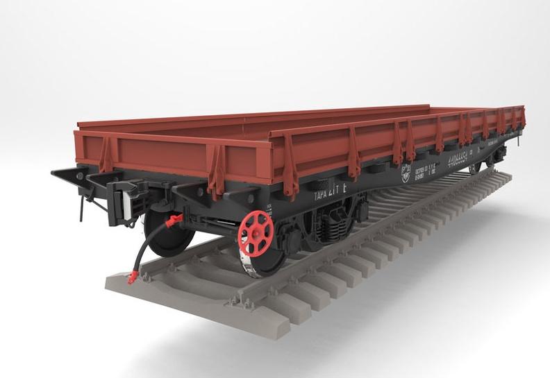 Жд платформа - универсальный транспорт для перевозки крупногабаритных грузов