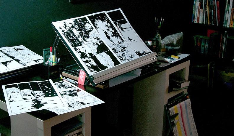 Творческая мастерская для художника