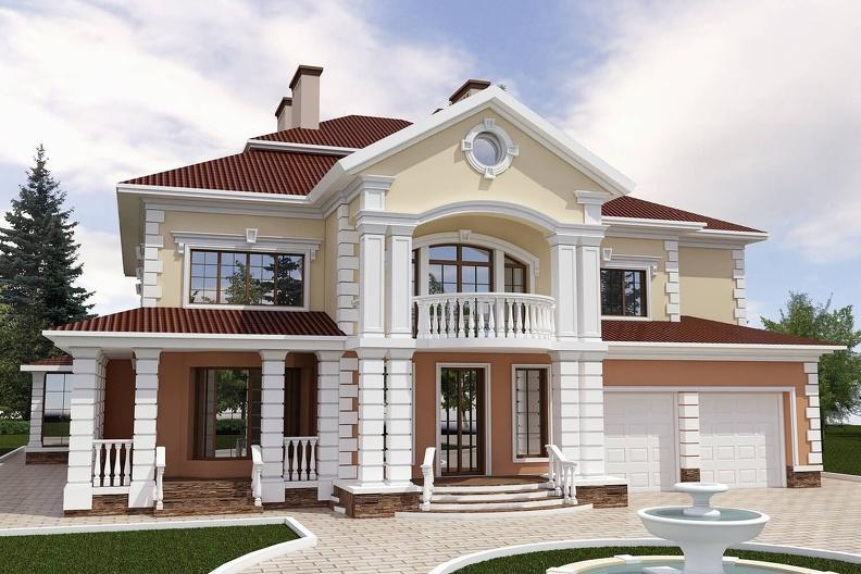 Что представляет собой фасадный декор
