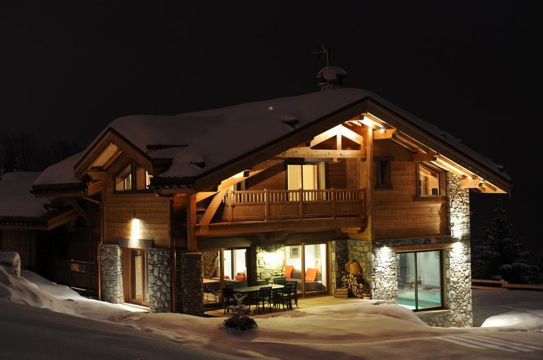 Что представляет собой зимний дом