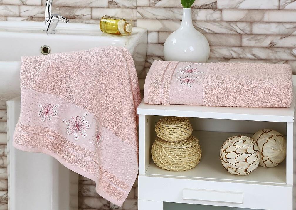 Применение махровых ванных полотенец