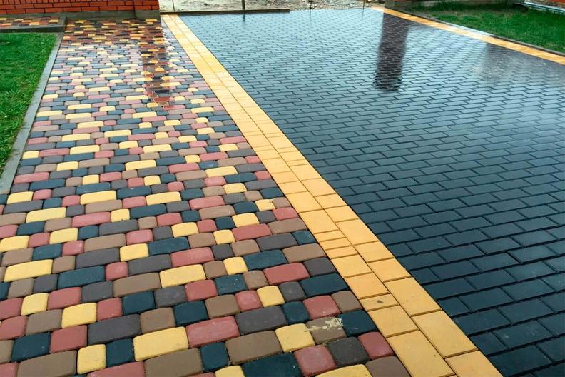 Разновидности и особенности тротуарной плитки