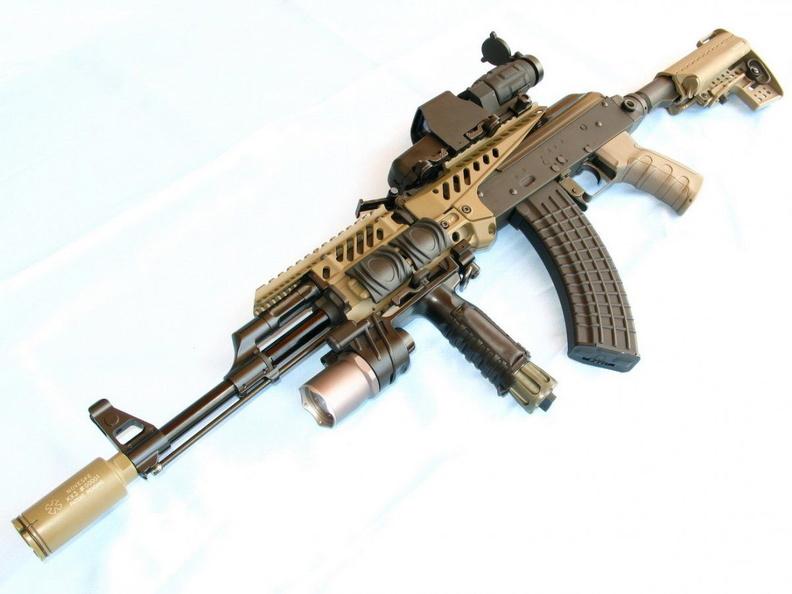 Способы улучшить характеристики оружия