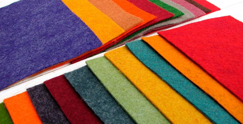 Фетровая ткань: особенности и состав