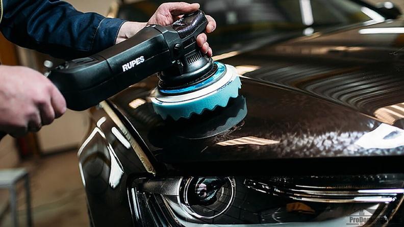 Особенности полировки кузова машины