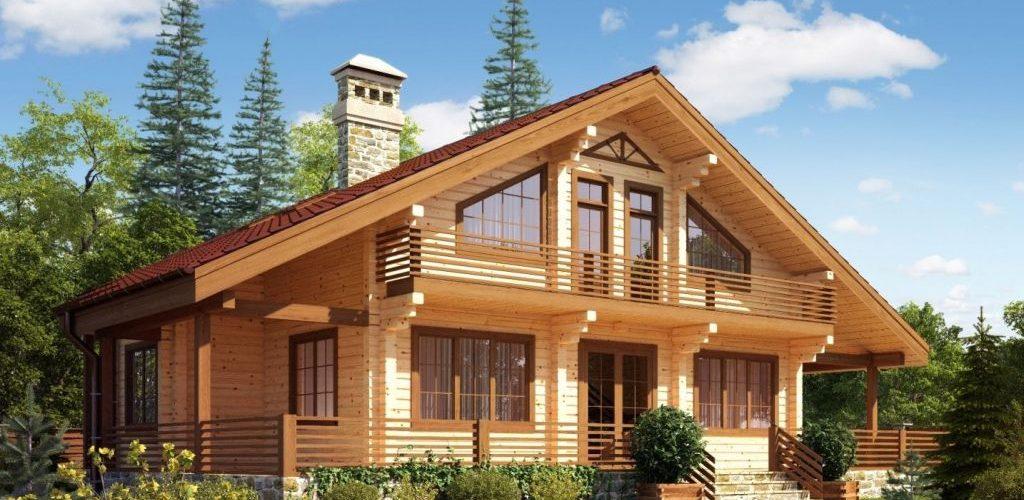 Дома из бруса: особенности древесины и преимущества построек
