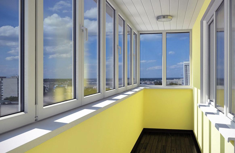 Преимущества застекленных балконов, виды застекления