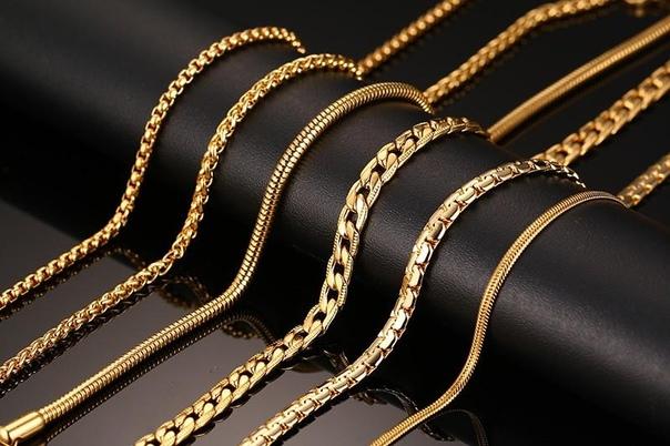 Цепочки из медицинского золота: особенности и преимущества