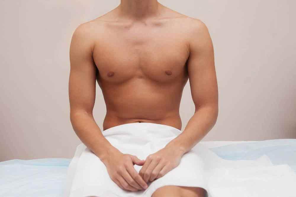 Як видалити волосся в паху у чоловіків